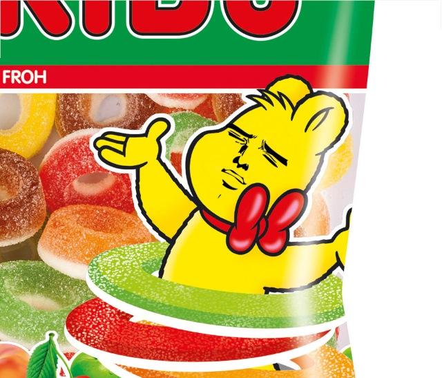 Haribo Bear is a feisty one